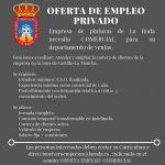 Oferta De Empleo: Comercial