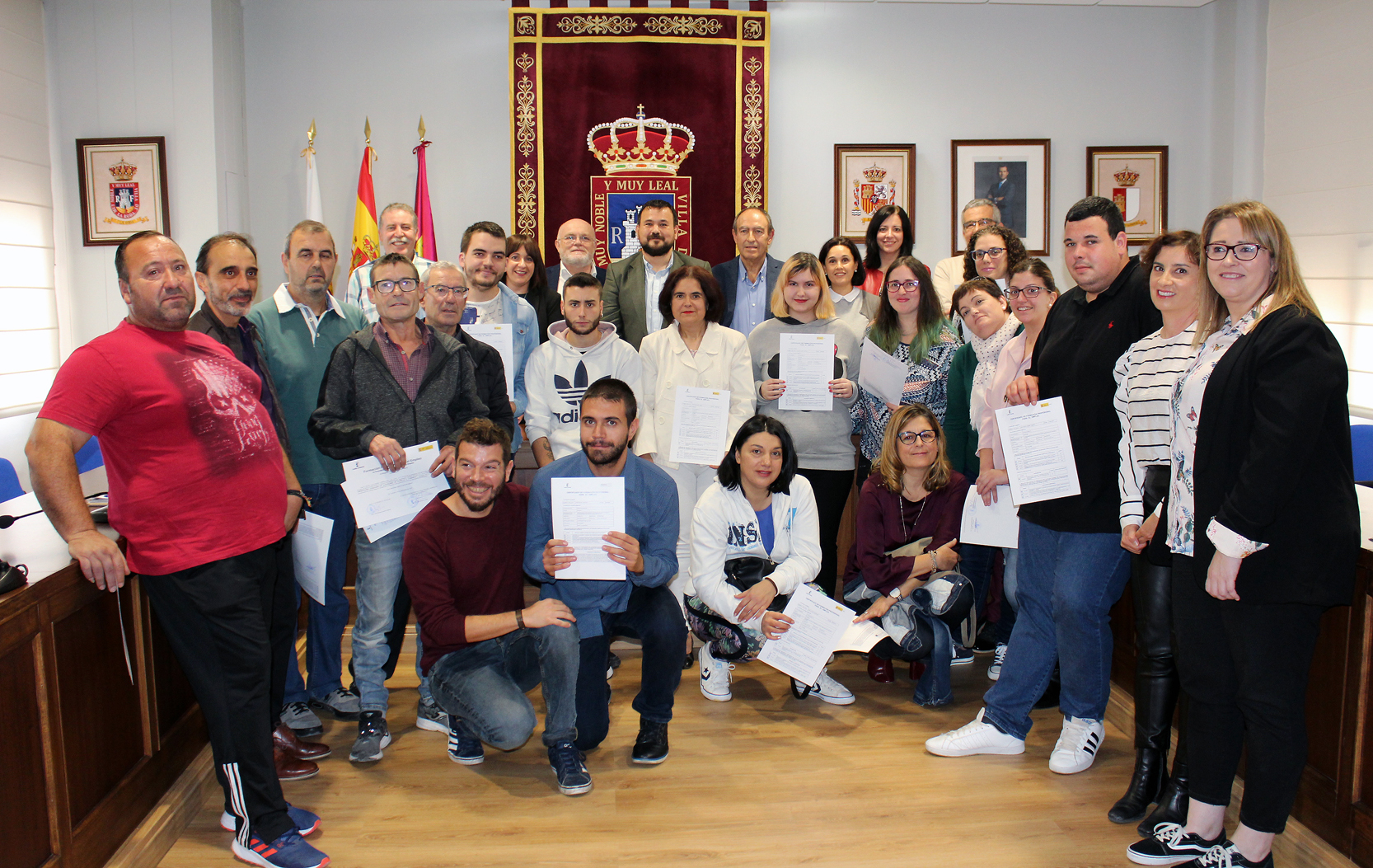 Entregados 24 Diplomas De Formación Profesional A Desempleados