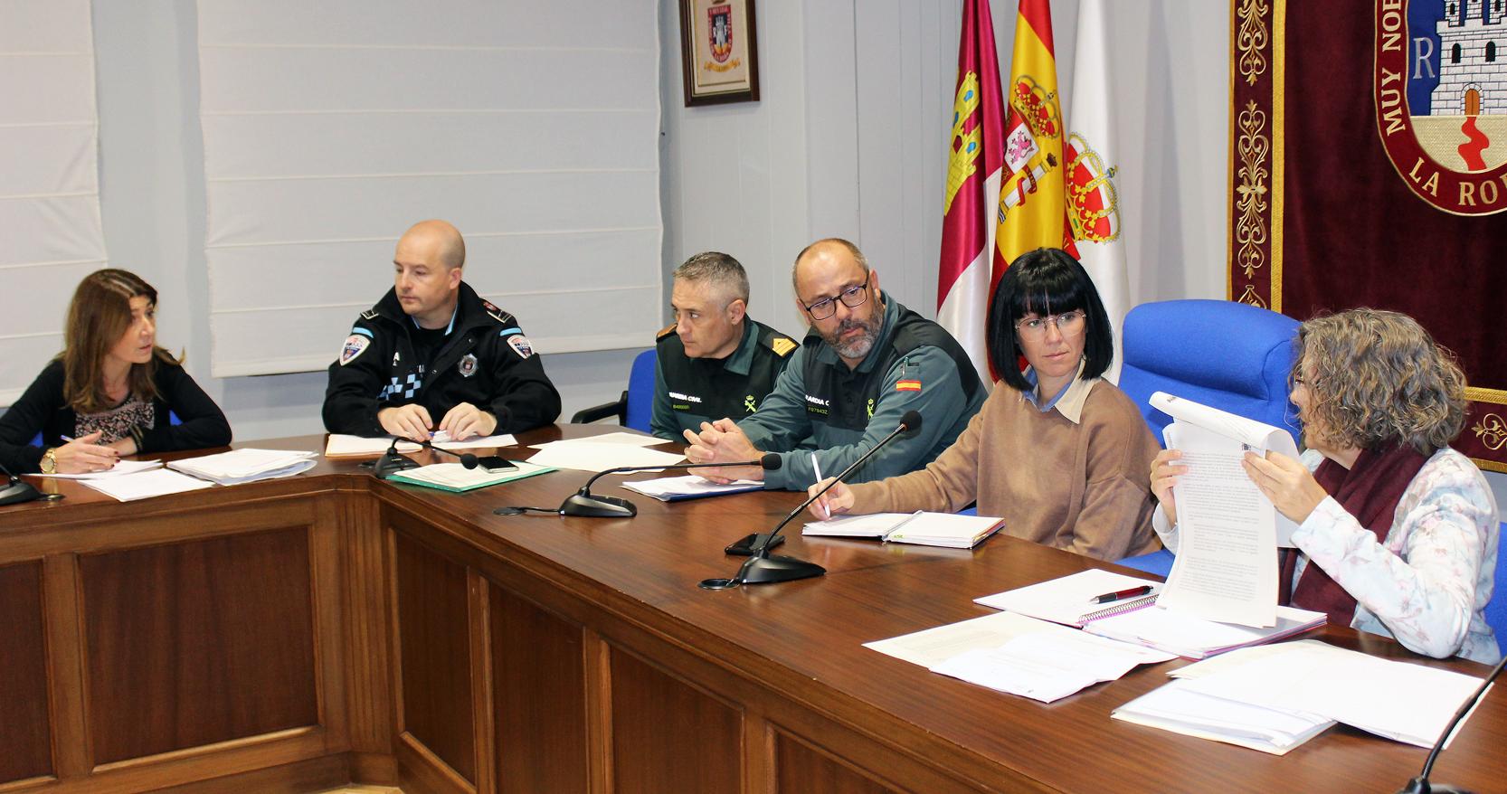Reunión De La Mesa De Coordinación Policial De Violencia De Género De La Junta Local De Seguridad De La Roda