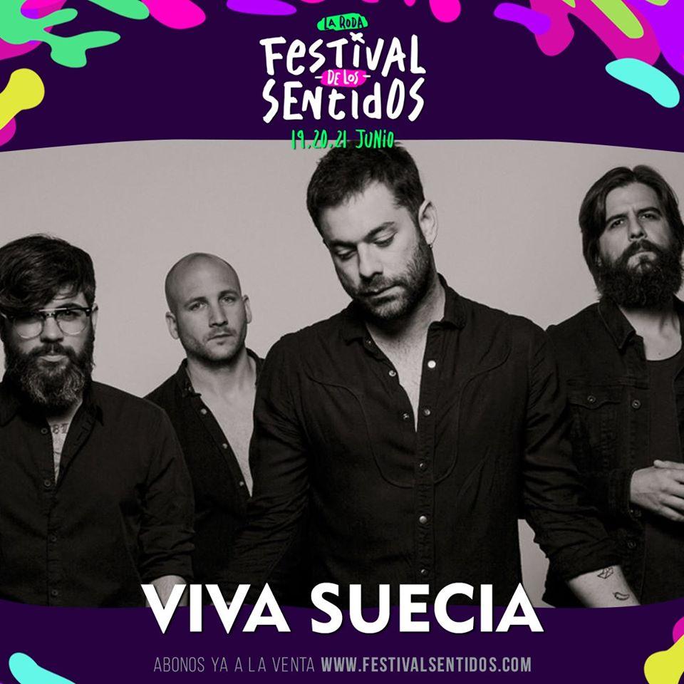 Viva Suecia Estará En La Roda, Dentro Del Festival De Los Sentidos