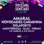 Novedades Carminha, Delaporte, Monterrosa Y Glas Se Incorporan Al Cartel De #Sentidos20