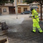 El Ayuntamiento Trabaja En La Desinfección De Parques Y Calles De La Localidad