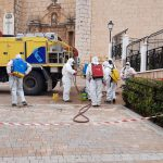 El Ayuntamiento Intensifica En Semana Santa El Plan Integral De Desinfección En Las Zonas Industriales