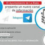 El Ayuntamiento De La Roda Activa Un Canal En Telegram Para Comunicar Información Municipal