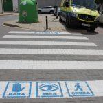 El Ayuntamiento Estrena Una Iniciativa De Accesibilidad En Los Pasos De Peatones