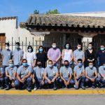 Juan Ramón Amores Visita Al Alumnado De 'Energía Plus La Roda'