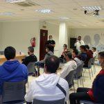 El Alcalde De La Roda Pone Como 'referentes' A Los 15 Alumnos Del Curso De Formación Plus