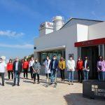 La Consejera De Igualdad Visitó El Centro De La Mujer De La Roda Y La Empresa Local Rodacal Beyem S.L.