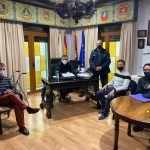 Juan Ramón Amores Se Reúne Con Miembros De La Asociación De Vendedores Ambulantes De Castilla La Mancha