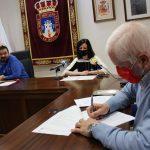 Juan Ramón Amores Firma Los Convenios Con Adelante, Arco Y Dos Colaboraciones Con Párkinson Y Cruz Roja
