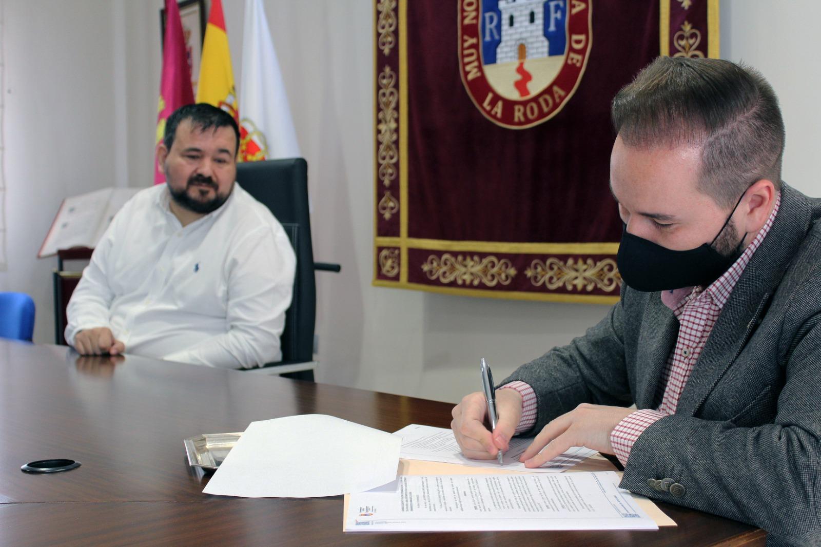 El Ayuntamiento Duplica El Convenio Con La Semana Santa De La Roda