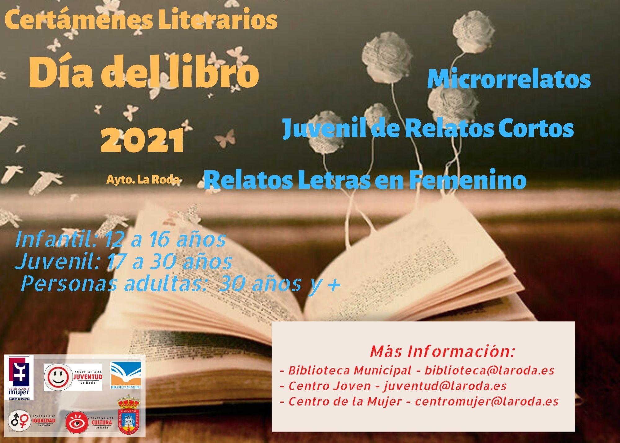 Convocados Los Certámenes Literarios 2021