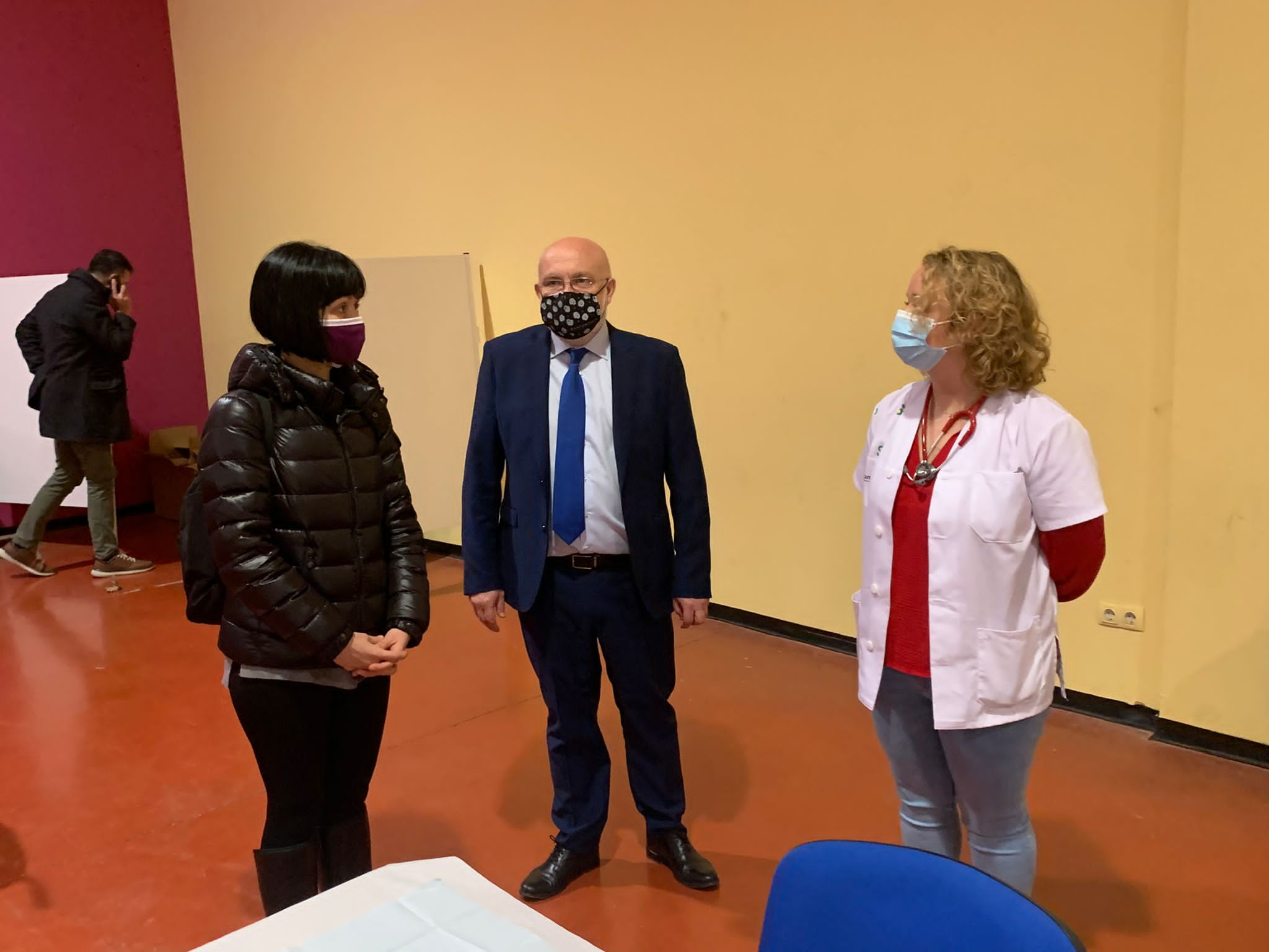 El Ayuntamiento Cede La Caja Blanca Como Servicio De Vacunación Centralizada