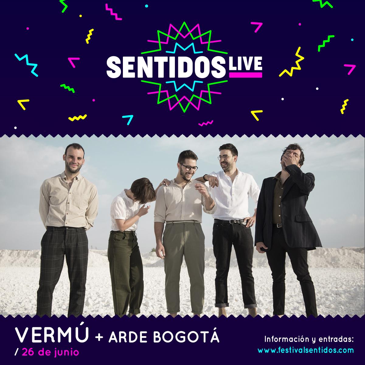 Fuel Fandango, Arde Bogotá Y Vermú Despiden Sentidos Live