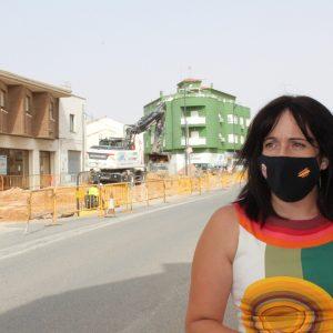 El Ayuntamiento Invierte 40.000 Euros En Parte Del Saneamiento De La Avenida Felipe VI