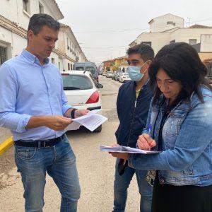 Firmada El Acta De Replanteo De La Calle Voluntariado